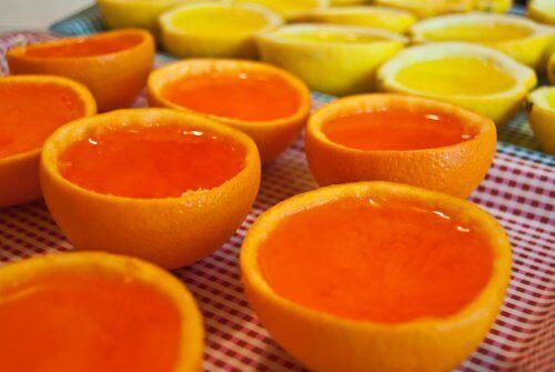 Formar av apelsinskal