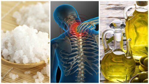 En fantastisk salt- och oljebehandling mot ledsmärta