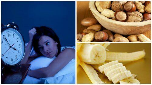 8 livsmedel för att behandla sömnlöshet naturligt