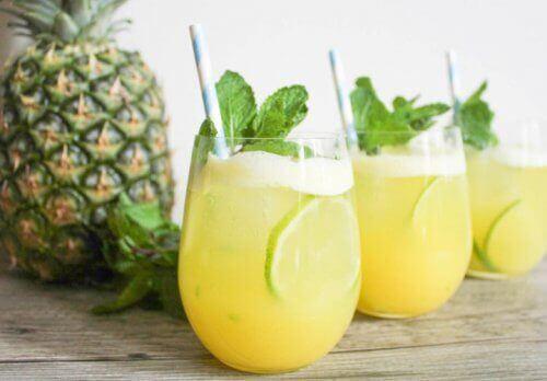 6 fantastiska fördelar med ananasvatten