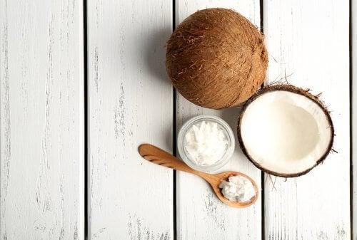 Vatten från kokosnöt