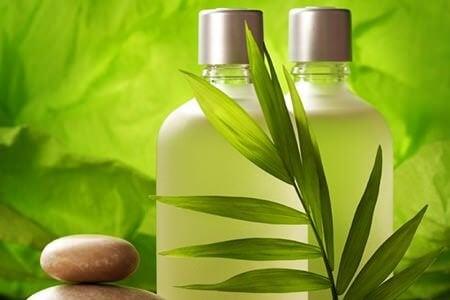 Använd naturliga schampon