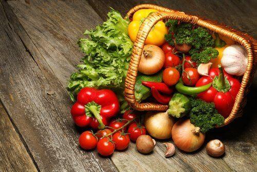 Råa grönsaker