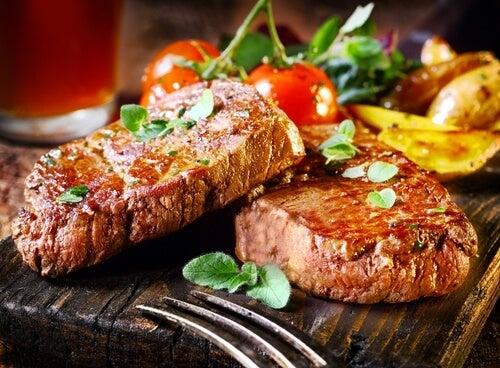 Stekt kött
