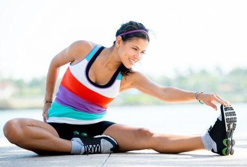 Stretcha efter träning