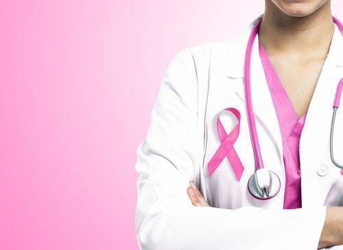 Läkare med rosa bandet