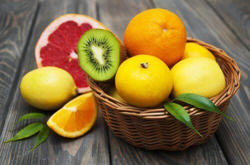 rena din lever med citrusfrukter