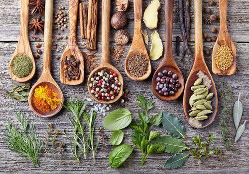 bli mer hälsosam med kryddor