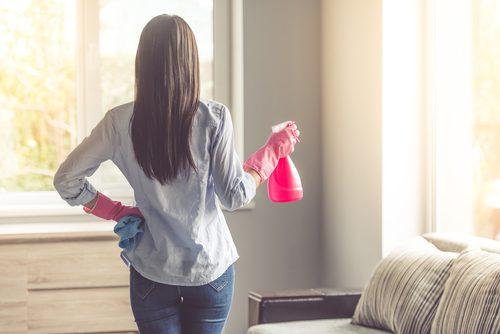 Städa i hemmet