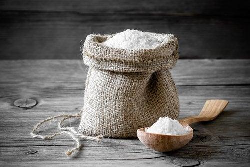 salt i säck