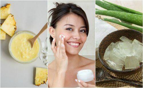 Få fastare hud i ansiktet med fem naturliga behandlingar