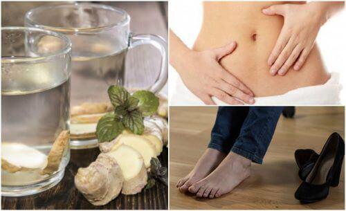 7 fördelar med ingefärsvatten på tom mage
