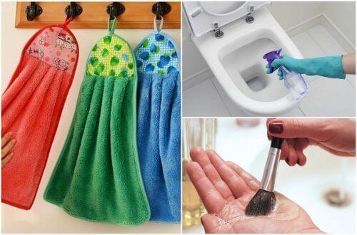 9 saker som du ska rengöra dagligen
