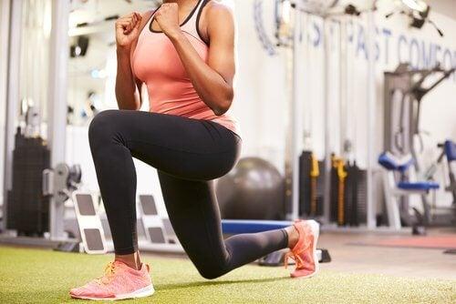 Utfall på gymmet