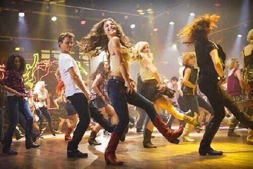 dansa med dina vänner eller ensam