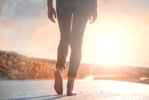 promenera dagligen