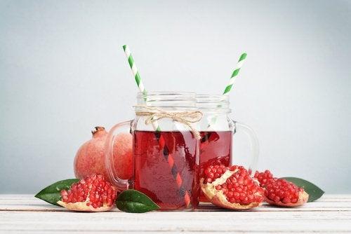 Granatäpplen stärker immunförsvaret