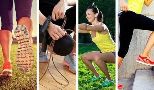När du tränar mer använder du mindre energi