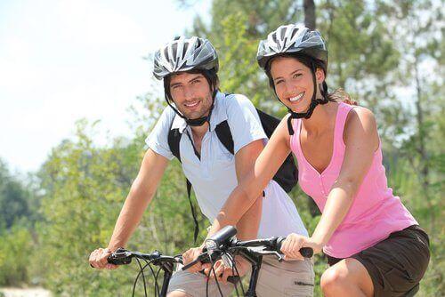 Cykla regelbundet för att använda mindre energi