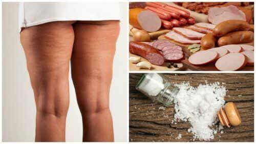 Undvik dessa 7 livsmedel för att bli av med celluliter