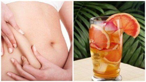 Högre ämnesomsättning med grönt te, grapefrukt & mynta