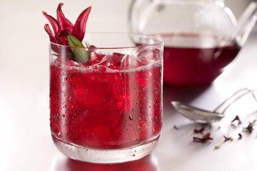Vatten på hibiskus