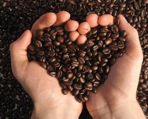 Kaffe som hjärta