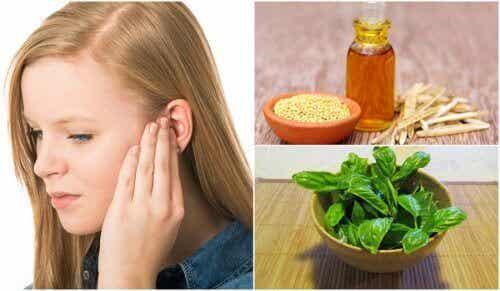 6 naturliga huskurer för att lindra tinnitus