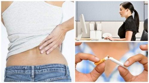 9 naturliga sätt att bli av med akut ländryggssmärta
