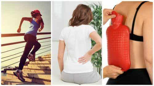 8 tips för att lindra ländryggssmärta naturligt