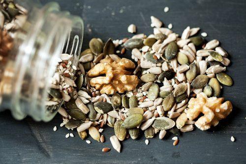 Mix av nötter och frön