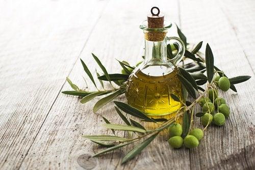 Olivolja är effektiv mot utslagen