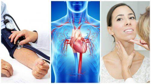 7 potentiella orsaker till att man drabbas av hjärtsvikt