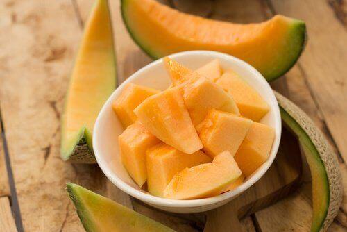 Skuren melon