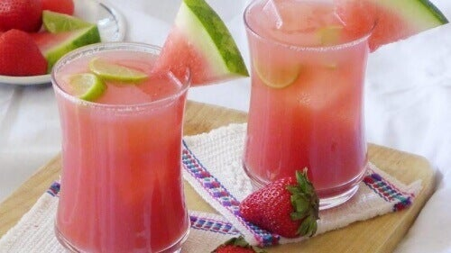 Behåll vikten & ta hand om muskler och kropp med vattenmelon