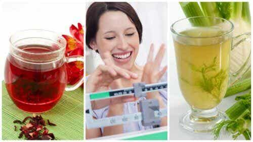 Gå ner i vikt med 6 naturliga avkok