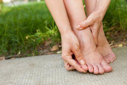 Vätskeretention drabbar ofta benen