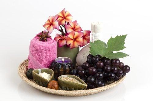 Vindruvor och ljus