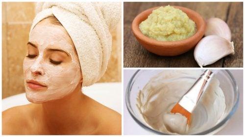 Hur du gör en vitlöksmask som avgiftar & föryngrar huden