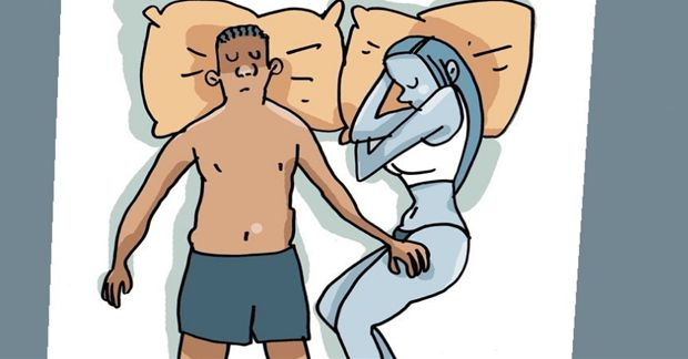 Hjälpsamma trick för att sova när det är varmt