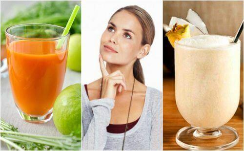 5 naturliga smoothies som kan stärka ditt minne