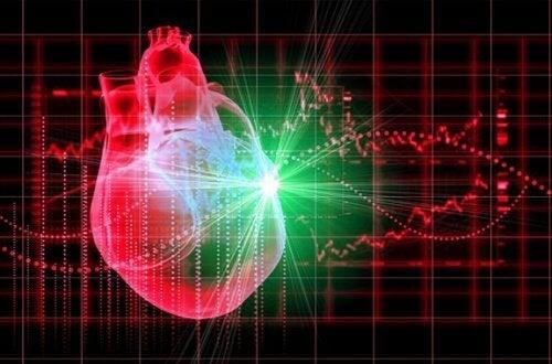 Färgglatt hjärta