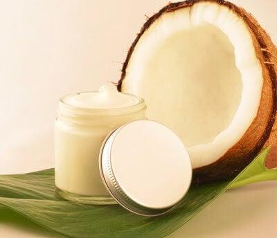 Kokosolja mot solen