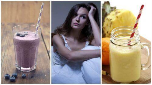 5 naturliga smoothies mot nattliga värmevallningar