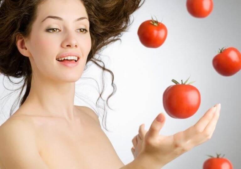 Tomater för hyn