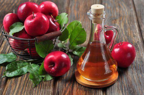 Äppelcidervinäger kan rensa huden