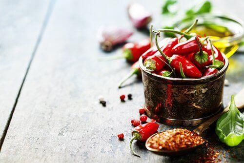 Chilipeppar är ett livsmedel som förvärrar migrän