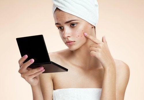 Rengör huden dagligen