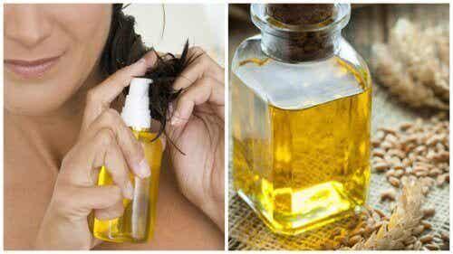 6 sätt att ta hand om håret med vetegroddsolja