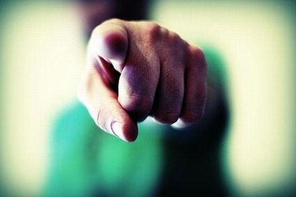 pekande finger
